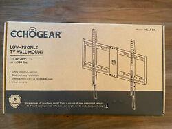 Echogear Low Profile Fixed Tv Wall Mount For Tvs Up To 85 - Holds Your Tv Only
