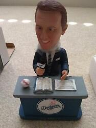 Rare Vin Scully Limited Talking Bobblehead 1315/3000 Dodgers Sga Mint Condition