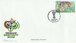 Armenia 17 October 2006 World Cup Germany Commemorative Stamp First Day Cover