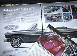 G 64 65 Ford Falcon Sprint Buyers Guide Info