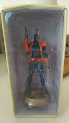 Dc Comics Eaglemoss Chess Figure Collection 36 Deathstroke Black Pawn