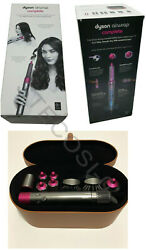 Dyson Airwrap Complete Smooth Hair Styling Set Fuchsia All Hair Types