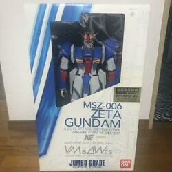 Msz-006 Zeta Gundam Jg 1/35 Complete Painted Figurine With Limited Poster F/s