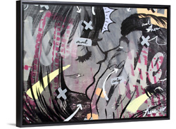Dan Monteavaro And Only Canvas Print In Black Floating Frame 36 X 48