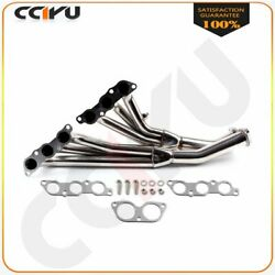 Stainless For 01 02 03-05 Is300 Altezza Xe10 Jce10 3.0l Exhaust/manifold Header