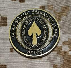 Usaf 193rd Special Operations Wing Afsoc Security Forces Squadron Socom Coin