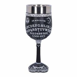 Nemesis Now Spirit Ouija Board Planchette Gothic Witch Spooky Cup Goblet B5141r0