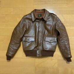 The Few A-2 Horsehide Leather Jacket Blouson Army Air Force 38 Rare From Japan
