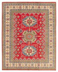 Vintage Hand-knotted Carpet 7'11 X 9'11 Traditional Oriental Wool Area Rug