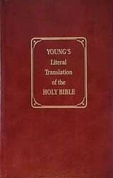 Young's Literal Translation Of The Bible☆robert Young☆hardcover ☆very Good Cond