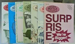 Antique Bottle And Glass Collector 1991-2 7 Issues