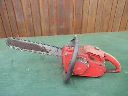 Vintage Homelite Chainsaw Chain Saw With 16 Bar