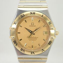 Omega Constellation Automatic 1202.10 Date Menand039s Watch Wl30965