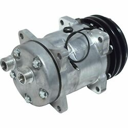57548 Ac Compressor Fits Ford New Holland Tractor And Case Ih Combine Co 6631c