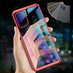 For Samsung Galaxy A32 A42 A52 5g Case Ultra Thin Soft Tpu Clear Plating Cover