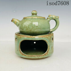 5.8antique Chinese Song Dynasty Porcelain Longquan Kiln Wine Thermos