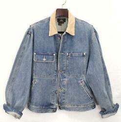 Rrl Authentic 2nd Type Denim Jean Jacket Size M Used From Japan