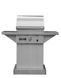 Tec Sterling 26 Propane Gas Grill On Stainless Steel Pedestal Stpfr1lpped