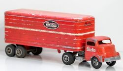 Smith-miller Gmc Be-mac Transport Tractor And Trailer Circa 1940's