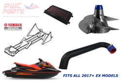 Yamaha Ex Sport Deluxe Exr Intake Grate Exhaust Air Filter Yj-cd-12/17 Pro-2 Kit