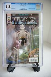 Thanos 13 1st Print - Cgc 9.8 White Pages - 1st App Cosmic Ghost Rider - 2018