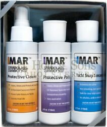 Imar™- Strataglass Protective Cleaner Polish And Soap Kit - Boat Patio Cafe Clears