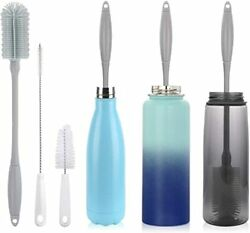 """14"""" Silicone Bottle Brush - Cleaning Set For Sports Water Bottle, Baby Bottles"""