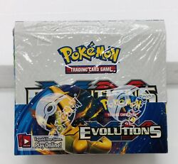Pokemon Cards - Xy Evolutions - Booster Box 36 Packs - New Factory Sealed