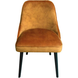 Moeand039s Home Collection Fn-1039-12 Harmony Burnt Orange Dining Chair