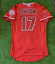 """Shohei Ohtani Los Angeles Angels Signed Auto Jersey 2018 Authentic """"mlb Auth"""""""