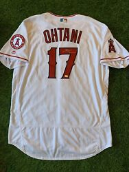"""Shohei Ohtani Los Angeles Angels Signed 2018 Al Roy Jersey Auto """"mlb Auth"""""""