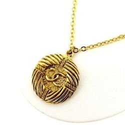 Necklace Accessory Gold Vintage Classic Secondhand T12254