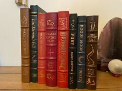 Easton Press Eight Book Lot, Masterpieces Of Science Fiction