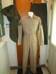 Vietnam War Usmc Uniform Collection Us Marines All With Matching Named