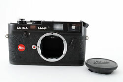 Leica M4-p Black Rangefinder 35mm Film Camera Body From Japan [exc+++] 800072a
