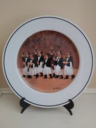 Guy Buffet Collection Plate The Charge Of The Bottle Brigade By Eschenbach
