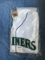Bnwt Seattle Mariners Russell Diamond Collection Blank Authentic Jersey 52