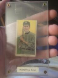 1911 T206 Sovereign 460 Tobacco Baseball Card Hummel Fit For A King