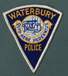 Waterbury Connecticut Police Patch