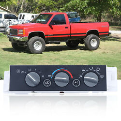 A/c Heater Climate Control For 96-00 Chevy Suburban Tahoe Gmc Yukon 599-006 New