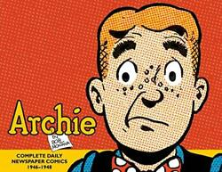 Archie The Classic Newspaper Comics 1946-1948 By Montana Bob Hardcover