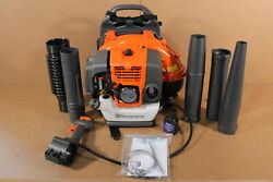 Used Husqvarna 150bt Backpack Blower Hand Throttle 2 Cycle Gas Powered Sdp550