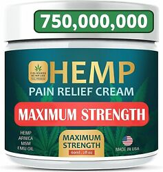 Maximum Strength - Fast Relief From Pain, Ache, Arthritis And Inflammation - Usa