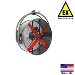 Circulation Fan Explosion Proof - Ceiling Mounted - 42 - 115/230v - 15,850 Cfm