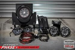 Can-am X3 5 Kit W/kicker Speakers Fits 2016-18 2 Seat And 2016-19 4 Seat Models