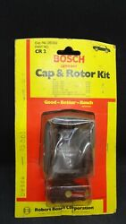 Nos 1964-68 Volkswagen Beetle Karmann Ghia Distributor Cap And Rotor Ignition Kit