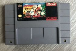 Disney's Goof Troop Super Nintendo, 1993 Tested, Cleaned, And Works