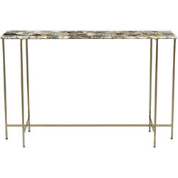 Moe's Home Collection Gz-1006-37 Agate 47 X 12 Inch Multicolor Console Table