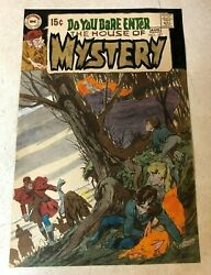House Of Mystery 187 Cover Color Guide Art Neal Adams 1970 Dc Dare You Enter