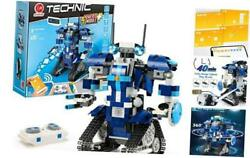 Almubot Battlefield I Remote Controlled Robot Building 405+ Pieces Kit Ages
